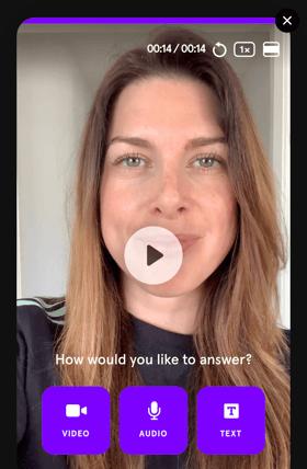 Embed Video Testimonial Widget